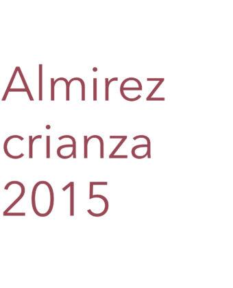 Almirez Crianza 2015