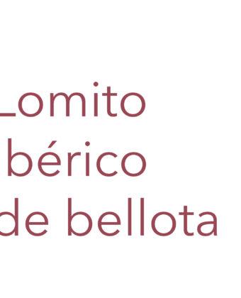 Lomito Ibérico de Bellota (pieza 0,3/0,4 kg.)
